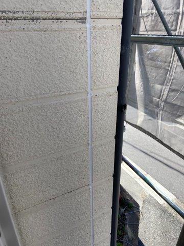 外壁サイデイング目地コーキング打ち替え完了
