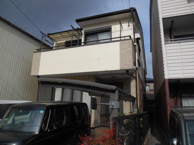 愛知県名古屋市中村区 T様外壁塗装施工事例