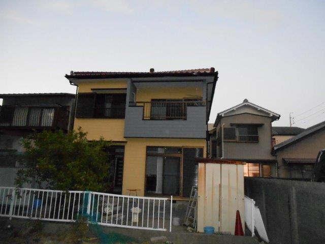 愛知県名古屋市港区 T様 外壁塗装工事施工事例