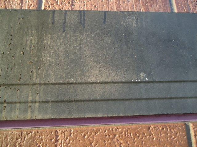 外壁付帯部幕板塗装施工前