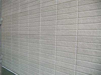 外壁サイディングフッ素塗料下塗り二層目塗装完了
