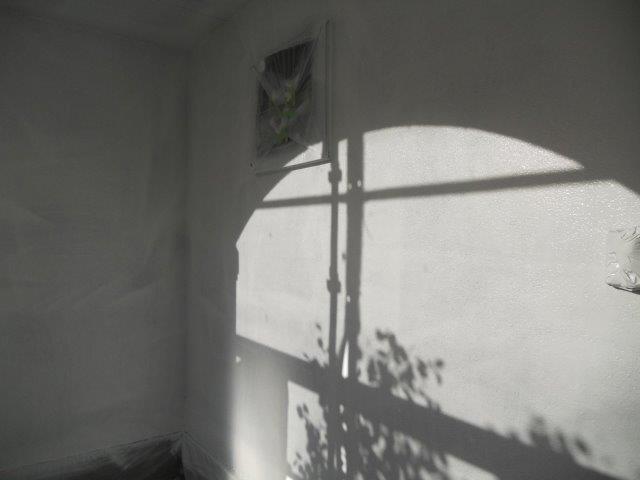 外壁無機塗料下塗り二層目塗装完了