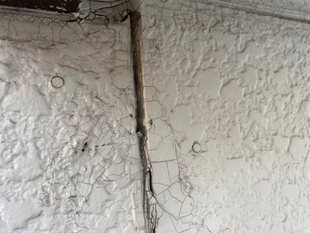 外壁サイディング目地コーキング打ち替え施工前