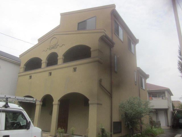 屋根外壁塗装施工前
