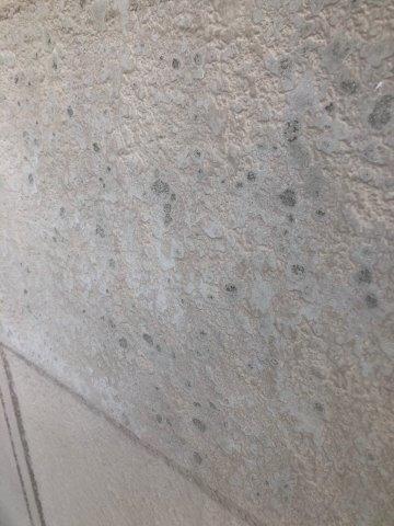 外壁モルタル表面膨れ素地調整完了
