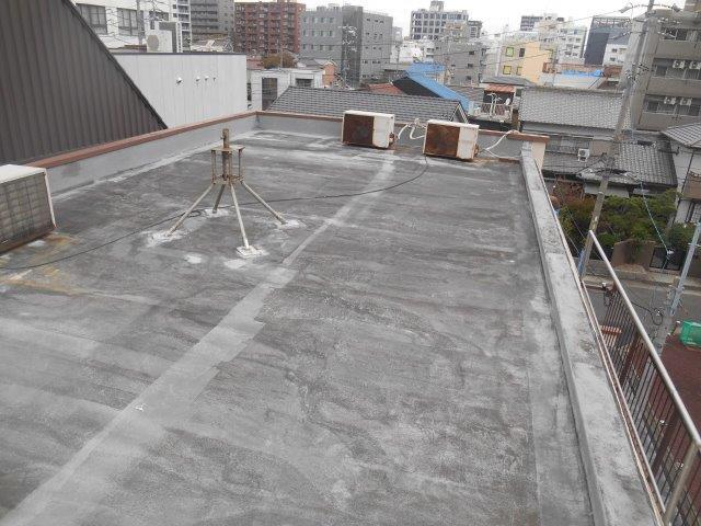 陸屋根防水工事施工前