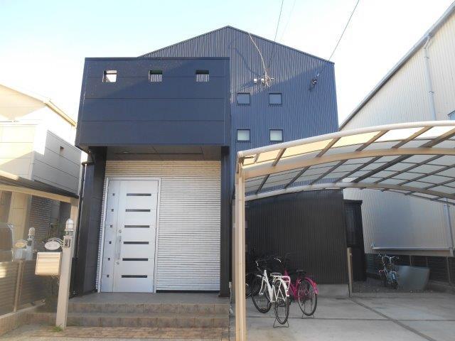 屋根塗装 外壁塗装 付帯部塗装 バルコニー防水完了