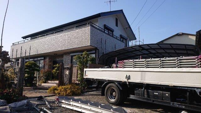 名古屋市中川区外壁塗装工事施工事例 W様邸 其の三 外壁付帯部塗装