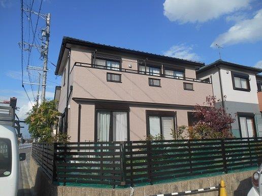 名古屋市中川区外壁塗装施工事例 T様邸