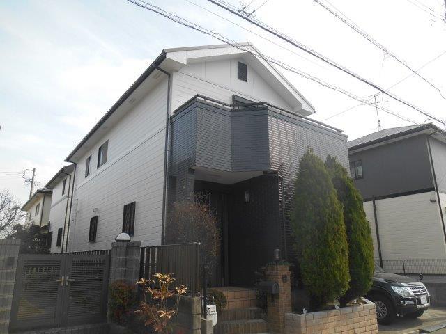 愛知県 名古屋市中川区 外壁塗装工事施工事例 Y様邸 其の一
