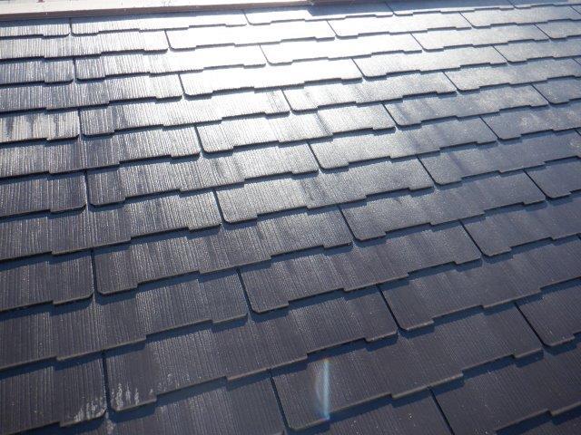 屋根塗装前高圧洗浄完了