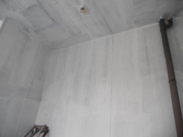 外壁サイディングアクセント部シリコン塗料塗装下塗り塗装完了
