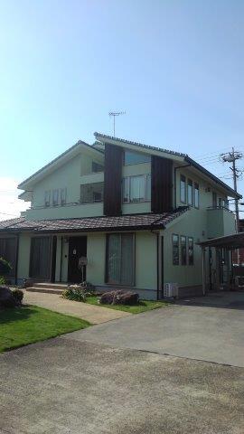 名古屋市港区 外壁塗装工事施工事例 H様邸