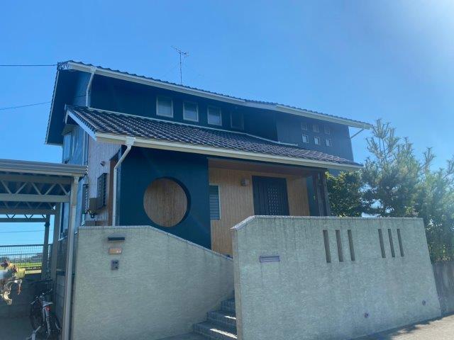 名古屋市港区 外壁塗装工事施工事例 K様邸