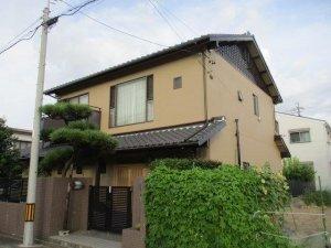 名古屋市中村区 外壁塗装工事施工事例 M様邸