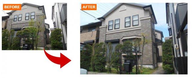 バランスの良い外壁塗装例