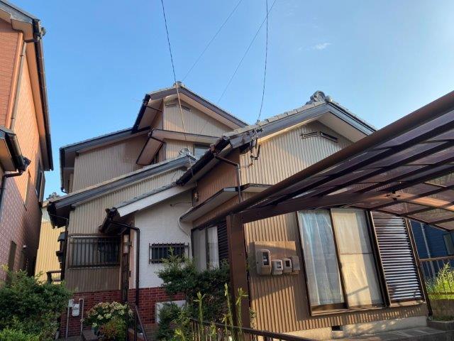 名古屋市中川区外壁塗装工事 施工事例 F様邸